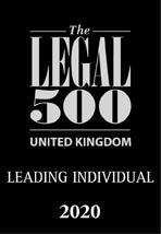 Legal 500 - Leading Individual 2020